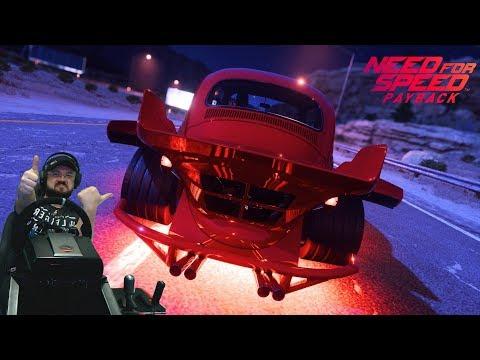 Резвый жучара Volkswagen Beetle и гонки против боссов NFS Payback