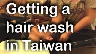 Hair washes in Taiwan