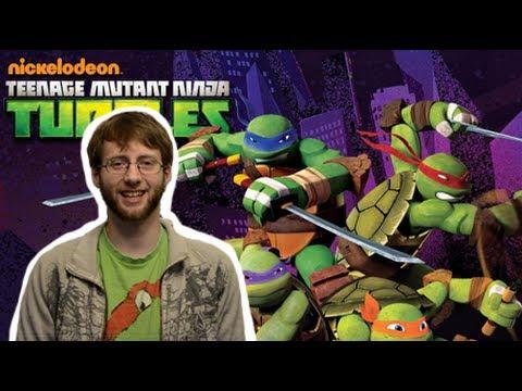 Teenage Mutant Ninja Turtles (2012) REVIEW (Pixies Animation Vlog!)