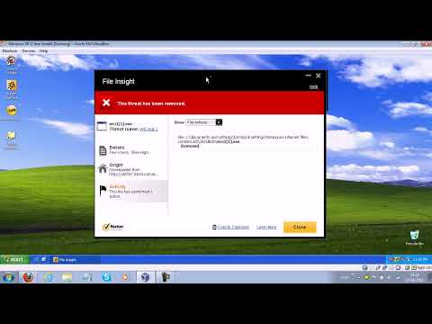Norton 2012 Beta Prevention Test