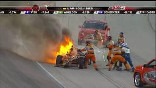 Simona De Silvestro wreck at the Fire