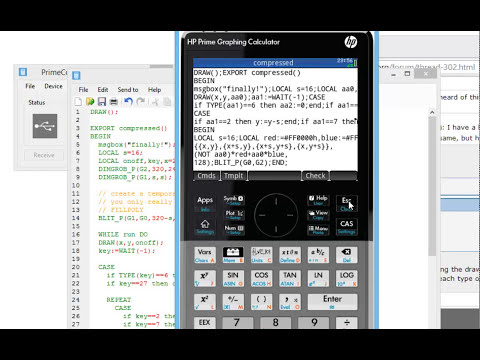 Prime Calculator program editor, obfuscation/code refactoring and command prompt