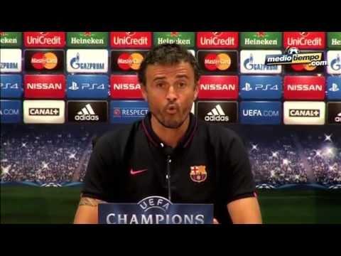 Luis Enrique, sin nerviosismo por Champions