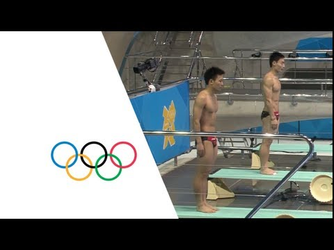 Diving Men's Synchronised 3m Springboard Final - China - Gold - London 2012 Olympic Games Highlights
