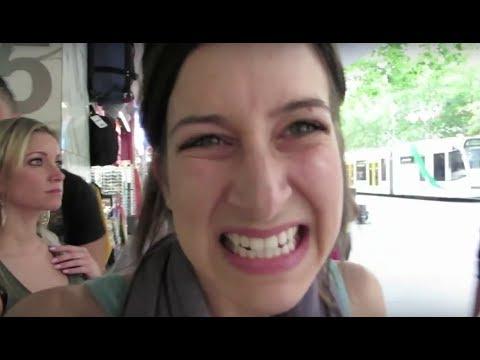 Girl Caught Flashing! (11.27.13 - Day 1672) video