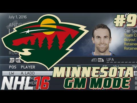 Free Agency / Year 2 Start - NHL Legacy - GM Mode Commentary Minnesota ep. 9