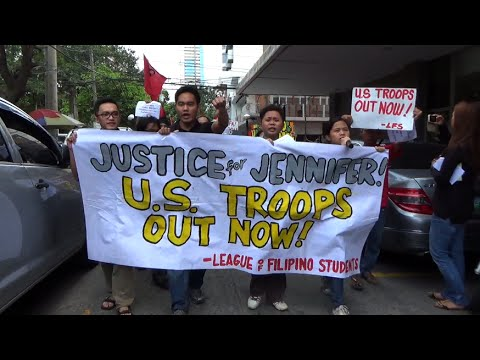 Protesters storm US embassy, demand junking of VFA, Edca