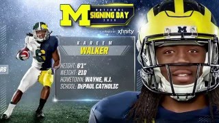 Kareem Walker Highlights - Michigan Signing Day 2016