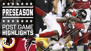 Redskins vs. Falcons | Game Highlights | NFL
