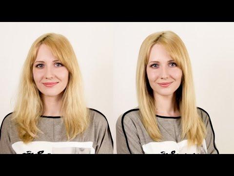 Как сделать непослушные волосы прямыми