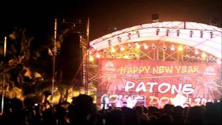 New year party in Patong beach, Phuket, Thailand