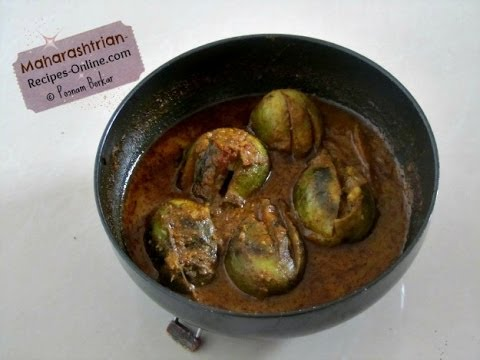 Bharli Vangi (Stuffed Brinjals) - Maharashtrian Recipe Music Videos