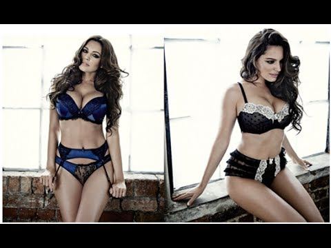 Kelly Brooks Sexy New Underwear Range For New Look