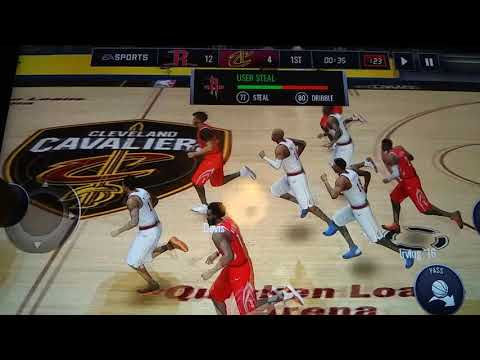 Nba mobile game 1of the series