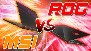 Uno scontro tra due super notebook da gaming | MSI GS65 STEALTH VS ROG ZEPHYRUS GM501G