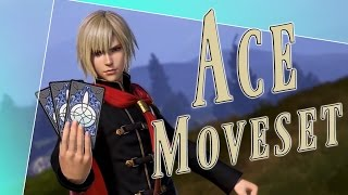 Ace Moveset + Detail - Dissidia Final Fantasy NT (DFFAC/DFFNT)