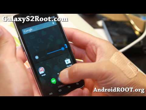 CM11 ROM with Android 4.4 KitKat for Galaxy S2!