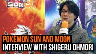 Pokémon Sun and Moon Interview with Shigeru Ohmori