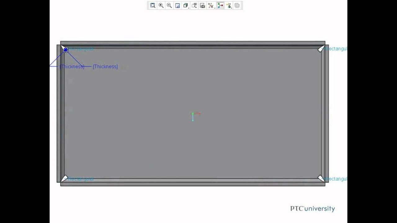 creo 2.0 sheet metal tutorial pdf