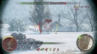 World of Tanks Xbox one FV201 (A45) 5 Kills