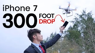 iPhone 7 Case Drop Test From 300 FEET With Drone!