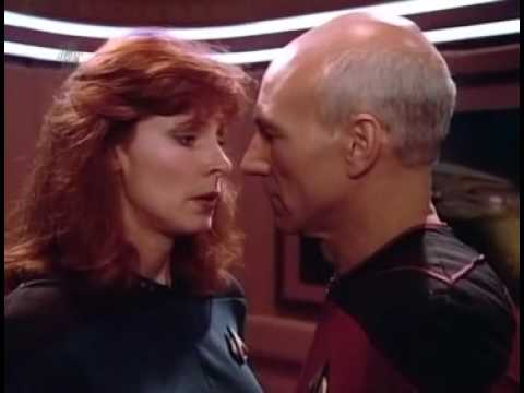 Picard & Crusher, Drunk On The Job