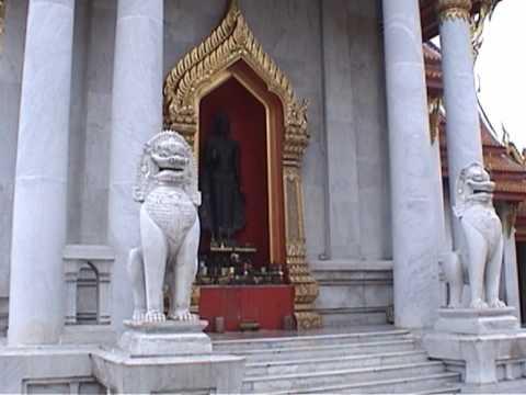 Thailand. Bangkok. กรุงเทพมหานคร The Marble Temple and Wat Pho