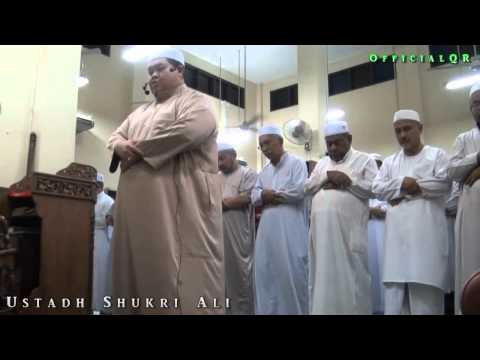 Ustadh Shukri Ali - very similar voice with abdurrahman sudais