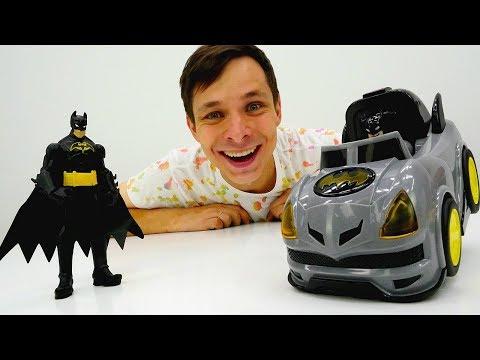 Бэтмен в мастерской Фёдора! Выбираем машинку для супергероя.