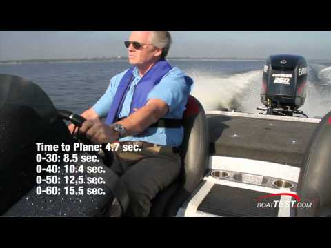 Evinrude E-TEC 250 H.O. Engine 2011 Test/ Component Reviews - By BoatTest.com