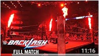 Bray Wyatt vs  Kane, Randy Orton    No Holds Barred Match   BackLash 2016 FULL MATCH