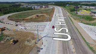 Dubuque's Southwest Arterial (US52) Project Update - July 2018