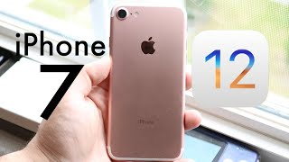 iOS 12 OFFICIAL On iPHONE 7! (Should You Update?) (Review)