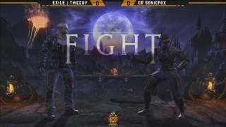 MKXL - KC W1 - SonicFox (Jason) Vs Tweedy (Kenshi,Scorpion)