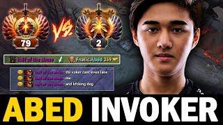 Unbelievable!! Abed Invoker Getting Hard Against Rank 79 Shadow Fiend Mid | Dota 2 Invoker
