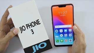 Jio Phone 3 Official Unboxing - Jio Phone 3 First Look ,Specs ,Price & Release Date In India !