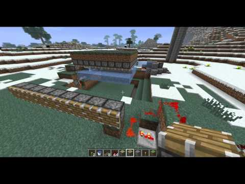how to make an iron golem hold a poppy