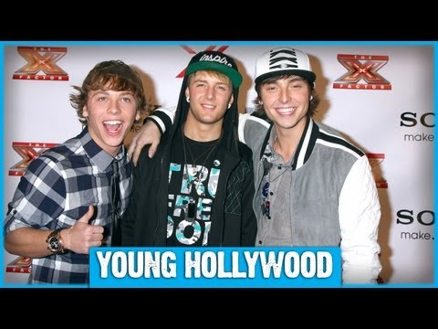 Emblem3 On The X FACTOR Red Carpet!