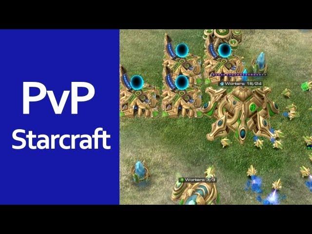 Debílek s mindráčkem | Starcraft 2 česky Protoss vs Terran