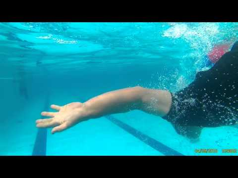 Free Style 20m Head Dive First Underwater 4m Floating And Side Kick