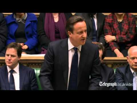 David Cameron's Commons tribute to Margaret Thatcher in full