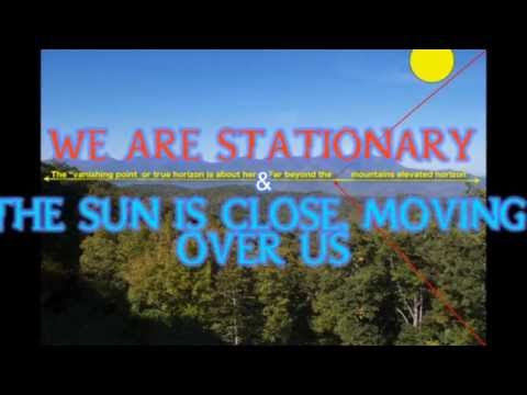 Red shift, Blue shift and the Flat Earth Sun