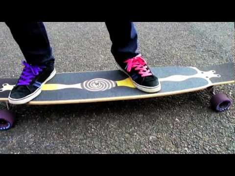 LongboardUK Trick Tips: Cross Step with Loaded Bhangra