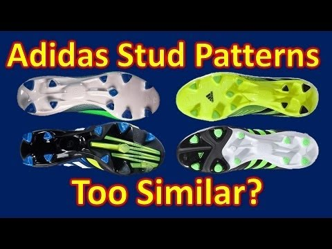 Are Adidas Soccer/Football Boot Stud Patterns Too Similar?