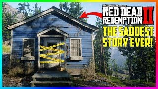 This Abandoned Cabin Reveals The SADDEST Story Of All Time In Red Dead Redemption 2! (RDR2 SECRETS)