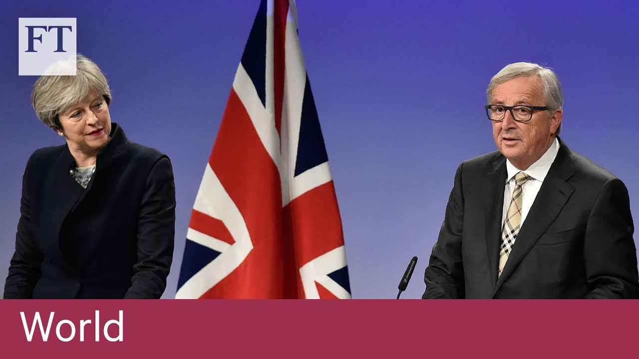 Brexit divorce deal agreed
