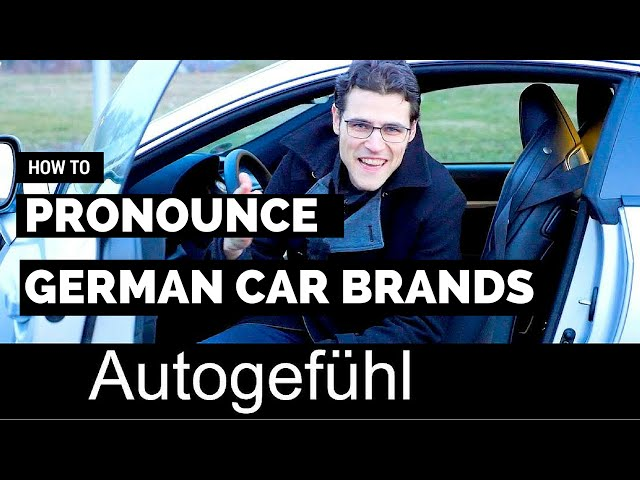 how to pronounce german car brands 95 octane. Black Bedroom Furniture Sets. Home Design Ideas