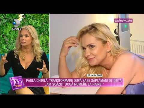 Teo Show (20.07.2018) -  Paula Chirila, Transformare Dupa Sase Saptamani De Dieta! Partea 5