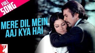 Mere Dil Mein Aaj Kya Hai  Video Song from Daag