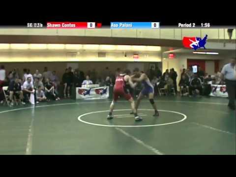 FS 55 KG - QF - Shawn Contos (NLWC) vs. Aso Palani (CAN)